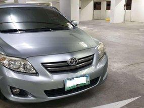 Silver Toyota Corolla altis 2009 for sale in Manila