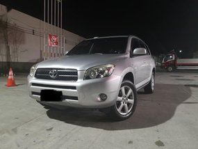 Silver Toyota Rav4 2006 for sale in Automatic
