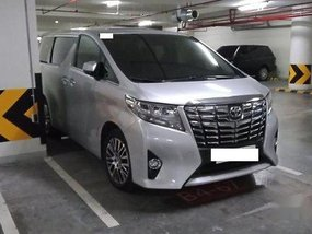Silver Toyota Alphard 2018 for sale in Manila