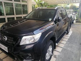 Black Nissan Navara 2017 for sale in Automatic