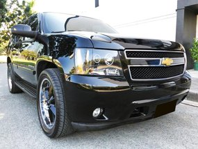Black Chevrolet Tahoe 2008 for sale in Manila