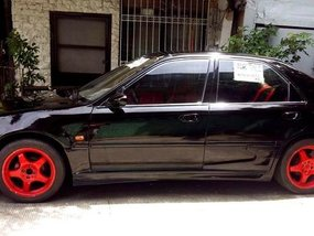 Black Honda Civic 1995 for sale in Manual