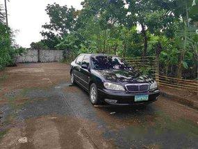 Sell Black 2004 Nissan Cefiro at 117000 km