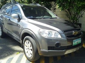 Grey Chevrolet Captiva 2009 Automatic for sale