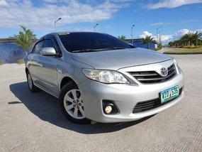 Silver Toyota Corolla Altis 2013 for sale in Cebu