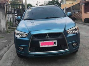 Blue Mitsubishi Asx 2012 at 96000 km for sale