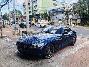 Selling Blue Bmw Z4 2014 at 22000 km