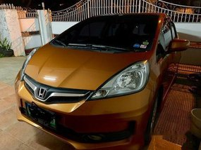Sell Orange 2013 Honda Jazz in Parañaque