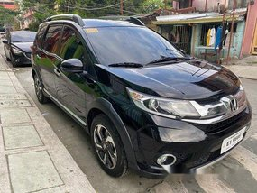 Selling Black Honda BR-V 2018 Automatic Gasoline