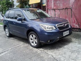 Selling Blue Subaru Forester 2014 at 50900 km