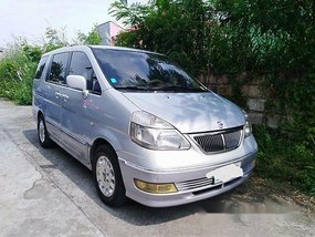 Silver Nissan Serena 2002 for sale in Malolos