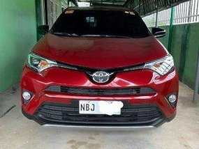 Red Toyota Rav4 2018 Automatic for sale