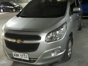 Sell Silver 2014 Chevrolet Spin at 78000 km
