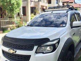 Selling White Chevrolet Trailblazer 2015 at 39000 km