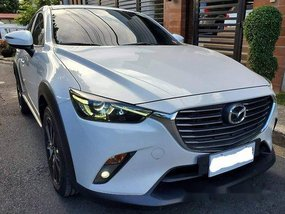 White Mazda Cx-3 2017 at 12200 km for sale in Manila
