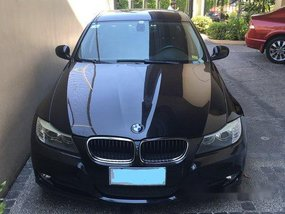 Black Bmw 320I 2009 Automatic for sale