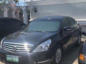 Selling Black Nissan Teana 2014 at 50000 km