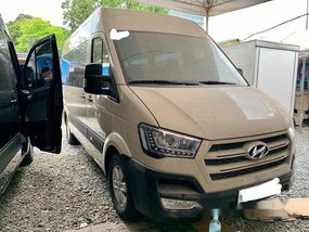Beige Hyundai H350 2017 Manual for sale