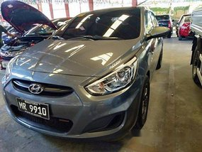 Grey Hyundai Accent 2017 for sale in Quezon City