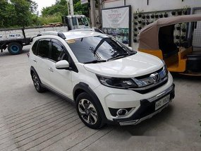 White Honda BR-V 2017 Automatic for sale