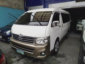 Sell White 2012 Toyota Hiace in Cavite