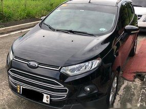 Black Ford Ecosport 2016 Automatic for sale