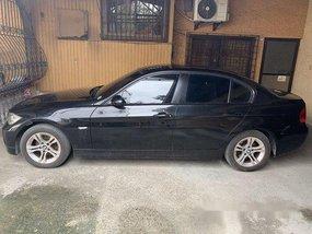 Black Bmw 320I 2008 at 87000 km for sale