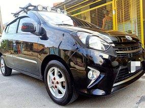 Selling Black Toyota Wigo 2014 in Manila