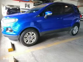 Selling Blue Ford Ecosport 2016 in Quezon City