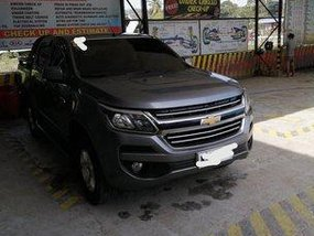 Grey Chevrolet Colorado 2017 for sale in Pagadian