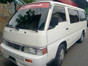 Selling White Nissan Urvan 2014 Manual Diesel
