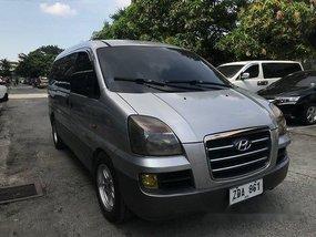 Selling Silver Hyundai Starex 2006 Manual Diesel