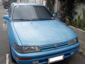 Blue Toyota Corolla 1992 Manual for sale