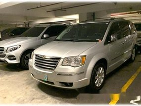 Silver Chrysler Town And Country 2010 Automatic for sale