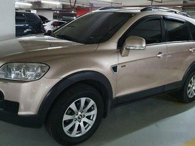 Beige Chevrolet Captiva 2011 Automatic for sale
