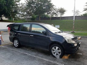 Selling Black Nissan Grand Livina 2011 Automatic Gasoline