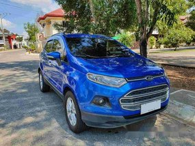 Blue Ford Ecosport 2014 for sale in Cagayan de Oro