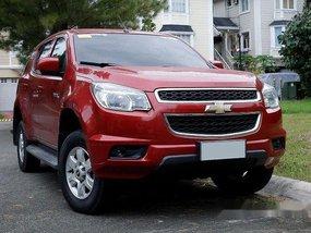 Selling Red Chevrolet Trailblazer 2014 at 48000 km
