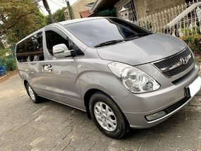 Selling Silver Hyundai Grand starex 2014 in Quezon City