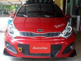Sell Red 2014 Kia Rio Automatic Gasoline