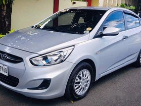 Selling Silver Hyundai Accent 2017 in Pasig