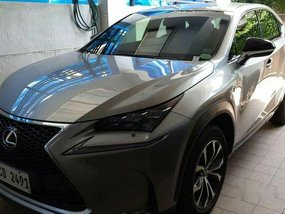 Silver Lexus Nx 200 2016 at 25000 km for sale