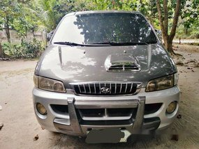 Grey Hyundai Starex 2001 for sale in Lubao