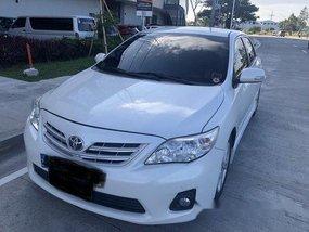 White Toyota Corolla Altis 2013 Automatic for sale