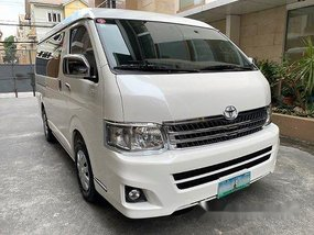 White Toyota Hiace 2012 Automatic for sale