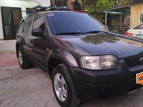 Black Ford Escape 2004 for sale in Manila