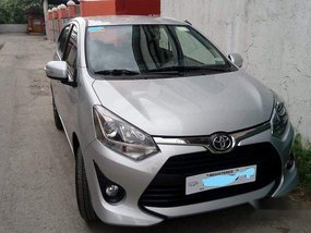 Selling Silver Toyota Wigo 2018 in Bacoor