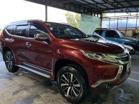 Red Mitsubishi Montero Sport 2018 for sale in Makati