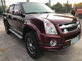 Red Isuzu D-Max 2012 for sale in Santo Tomas