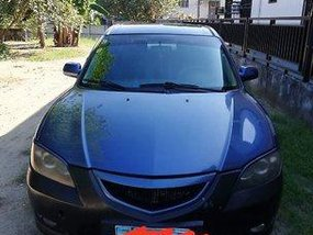 Selling Blue Mazda 3 2007 at 96603 km